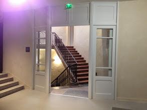 Photo: L'escalier XVIIIe, liaison entre 2 bâtiments