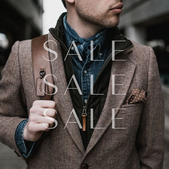 Men's Fashion Sale - Instagram Post Template