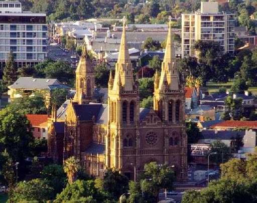 RCI-Aus-Adelaide - St Peter's Cathedral is one of Adelaide's iconic landmarks.