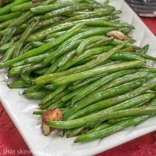 Asian Green Beans.