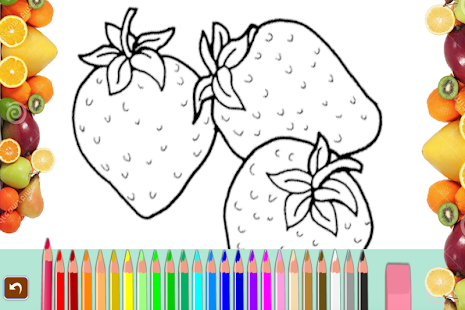 Fruit Coloring Book 2017 - náhled
