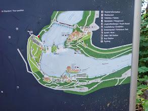 Photo: Informační panel u Rýnských vodopádů