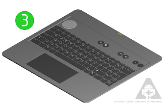 Photo: 3: keyboard  - ultra-thin Bluetooth keyboard - standalone usage as HTPC keyboard - I get compact case when I combine keyboard with dock and close it