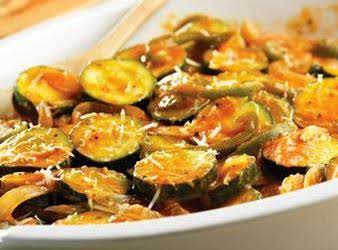 Zucchini With Yellow Tomato Soup Recipe