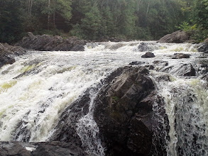 Photo: High Falls, Grassy River, in Timmins Ontario