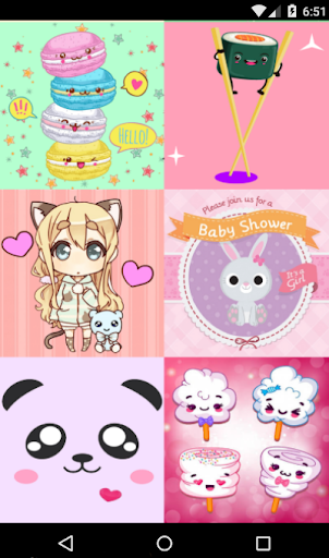 Cute Kawaii Wallpapers HD 1.1 screenshots 1