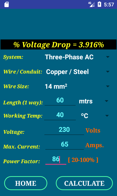 Pec wire size calculator full android apps on google play pec wire size calculator full screenshot greentooth Images
