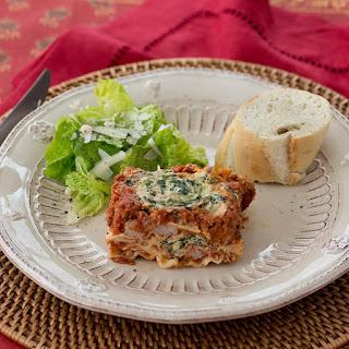 Turkey Sausage and Spinach Lasagna