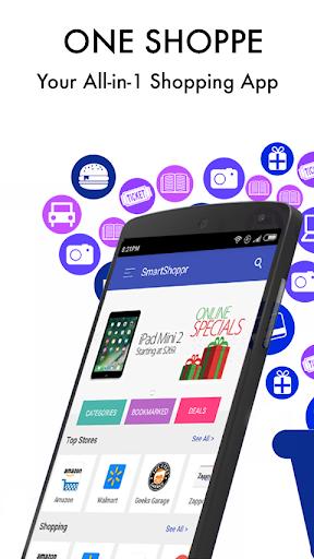 All in One Online Shopping - SmartShoppr screenshot 1