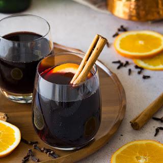 Christmas Market Style Glühwein (Mulled Wine)
