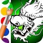Dragon Coloring Pages APK icon