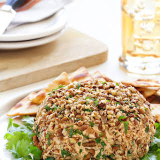 Spicy Taco Cheese Ball.