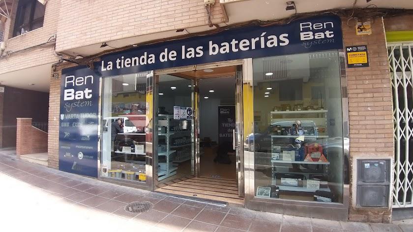 Especialistas en todo tipo de baterías.