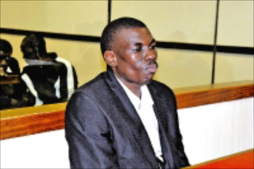 DENIED BAIL: Constable Hlanganani Nxumalo faces eight charges of attempted murder. 20/11/08. © Unknown.