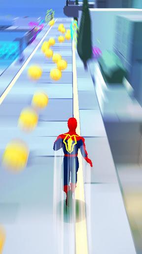 Super Heroes Fly: Sky Dance - Running Game screenshots 11