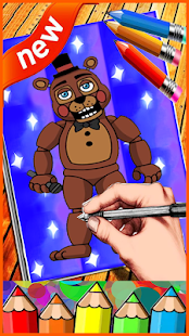 How to Draw : FNAF Easly Step - náhled