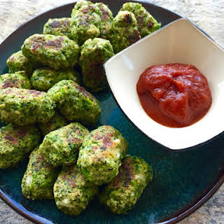 Baked Broccoli Bites.