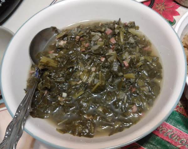 Southern Turnip Greens Recipe