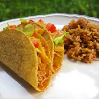 Cool Ranch Chicken Tacos {Slow Cooker}.