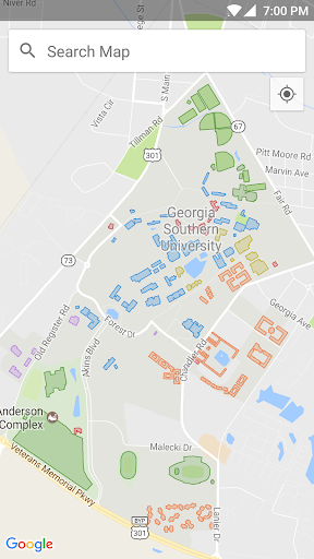 Map Of Georgia Southern.Georgia Southern Campus Map Apk Download Apkpure Co