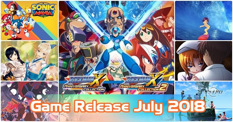 [Game Release] เกมเด็ด! เดือนกรกฏาคม 2018