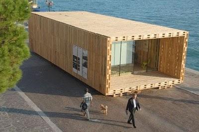 Sabias Que Puedes Construir Tu Propia Casa Con Pales De Madera