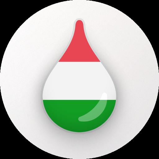 Drops: Learn Hungarian. Speak Hungarian. Icon