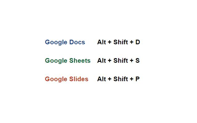 Quick Create for Google™ Docs, Sheets, Slides