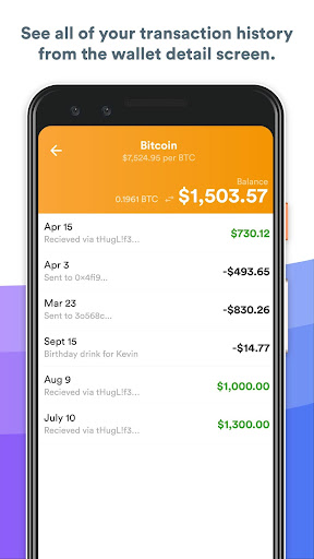 BRD - bitcoin wallet for Android apk 6