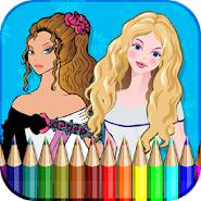 Disney Princess Coloring Book APK Icon