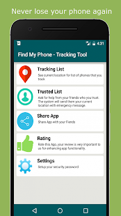 Find My Phone - ( Offline ) tracking tool via SMS- screenshot thumbnail