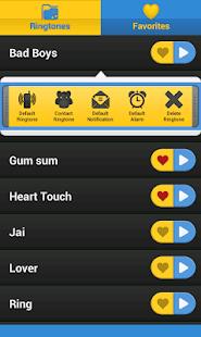 Ringtones screenshot