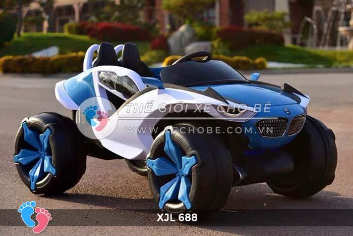 Xe ô tô điện địa hình cho bé XJL-688 23