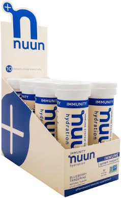 Nuun Immunity Hydration Tablets: Blueberry Tangerine, Box of 8 alternate image 1