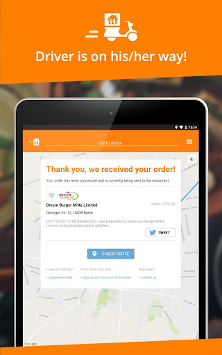 Lieferando.de - Order Food app (apk) free download for Android/PC/Windows screenshot