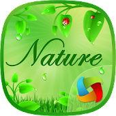 Nature Leaf MegaLauncher Theme