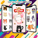 Best Cat Stickers For Wastickerapps icon