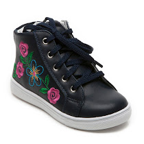 Step2wo Flora - Embroidered Trainer HIGHTOP