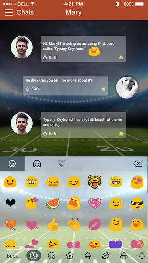 mod American Football Emoji Theme 2.5 screenshots 3