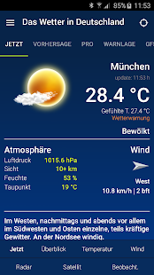 Das Wetter in Deutschland Screenshot 1