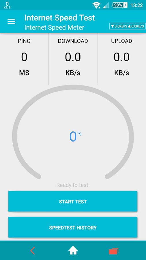Internet speed meter Prime