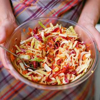 Don't Go Grilling Without This Vegan Cole Slaw