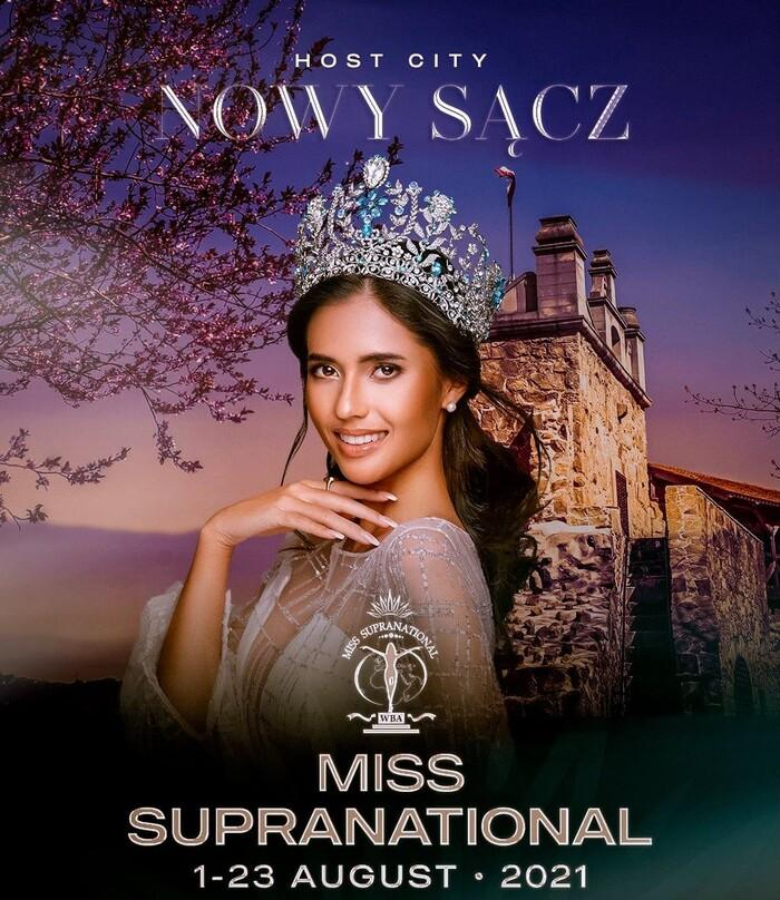 Đại diện Venezuela tại Miss Supranational 2021 lộ diện