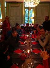 """Photo: La soir au restaurant de Montbrun """"O des Sources"""" : http://www.o-des-sources.com/"""
