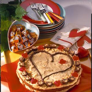 Hazelnut Heart Cake