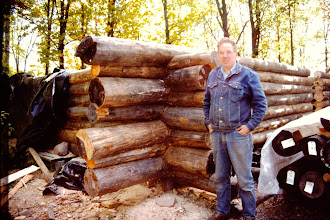 Photo: Seven logs high.