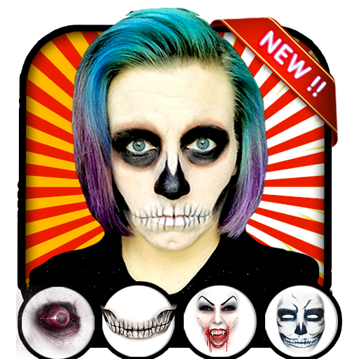 Halloween makeup photo editor