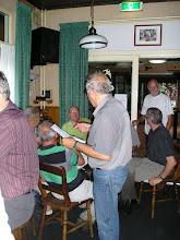 Photo: Wiel Diels met het programma voor 30 juli 2009