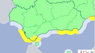 Mapa de Andalucía previsto para este jueves.
