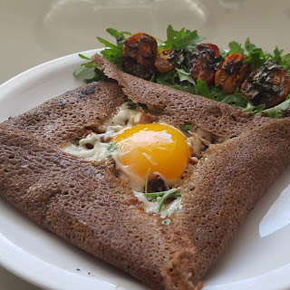 Breakfast Buckwheat Galette ComplèTe with Bacon, Egg and Cheese (Pp – GF LC RSF) Recipe